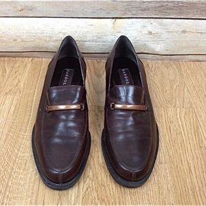Bandolino Hardwin loafers with copper accent